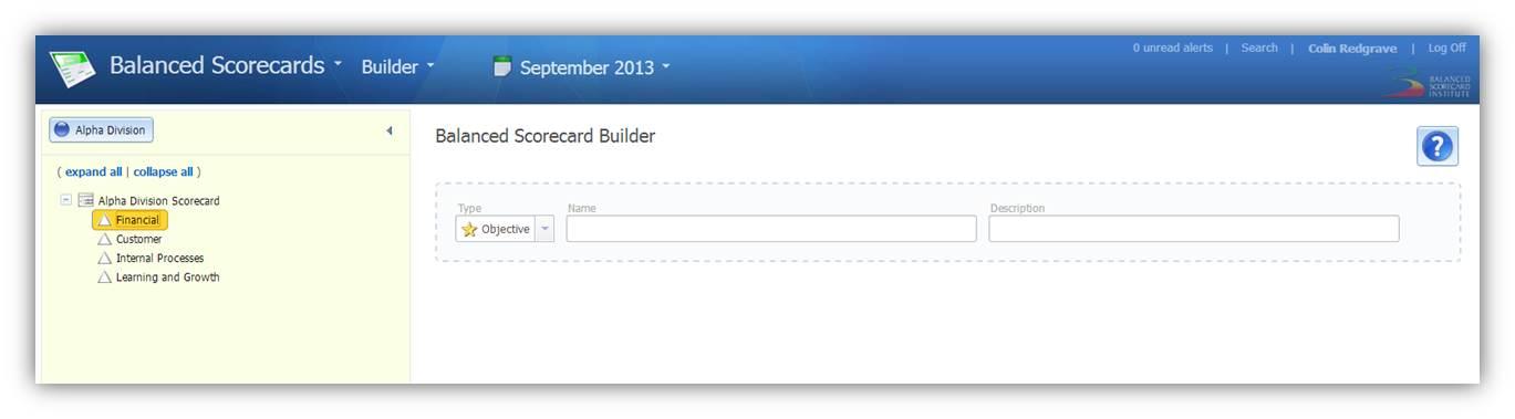 Builder - Objectives