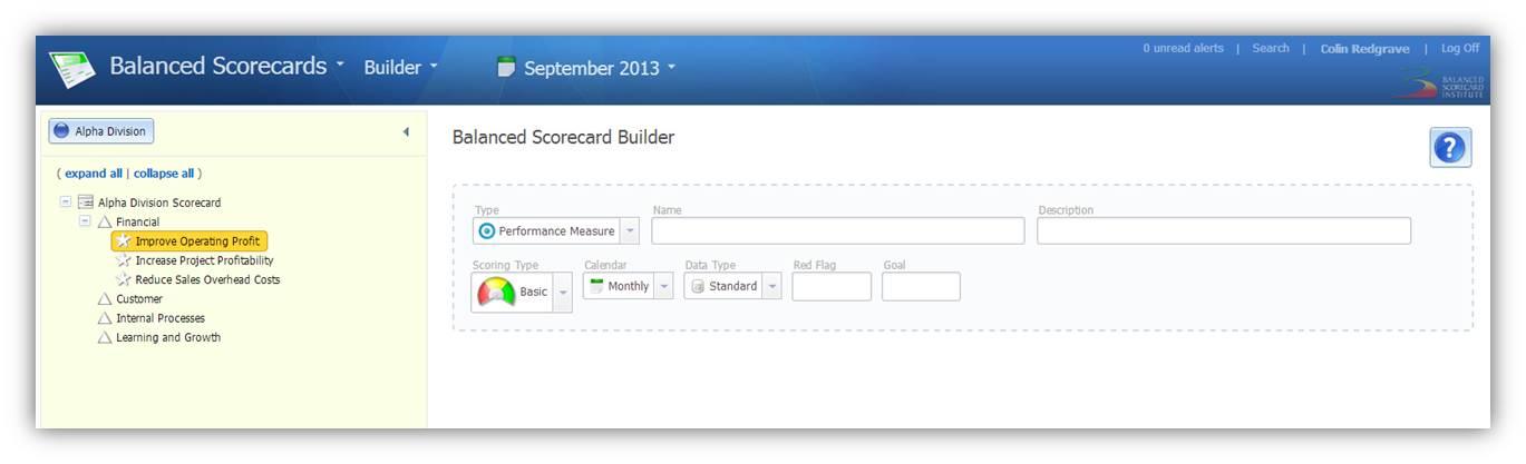 Builder - Performance Measures