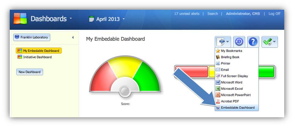 Version 2.7 - Embed Dashboards