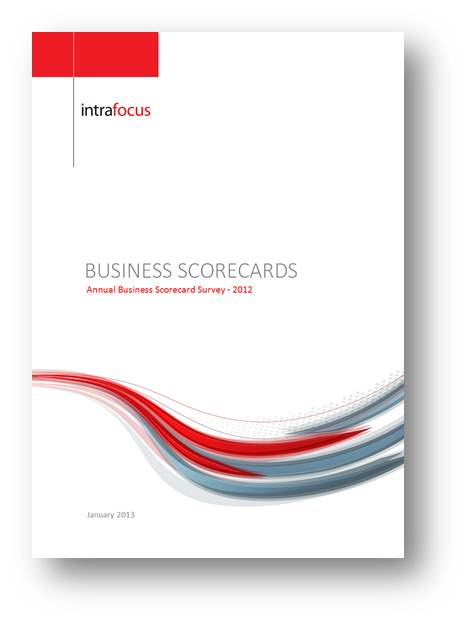 Business Scorecard Survey Report 2012