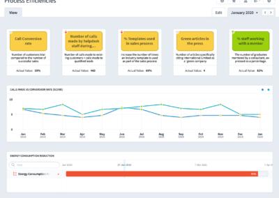 Process Efficiencies Dashboard